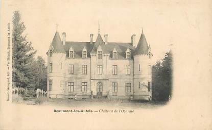 """CPA FRANCE 28 """"Beaumont les Autels, Chateau de l'Ozanne"""""""