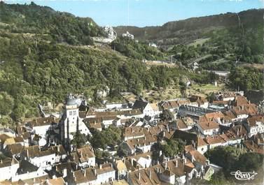 """/ CPSM FRANCE 39 """"Poligny, l'église, vue générale"""""""