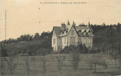 "CPA FRANCE 29 ""Chateaulin, Chateau de Toul ar Hoat"""