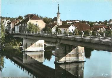 """/ CPSM FRANCE 39 """"Fraisans, le pont sur le Doubs"""""""