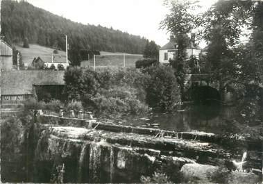 """/ CPSM FRANCE 39 """"Pont de la Chaux, la cascade"""""""