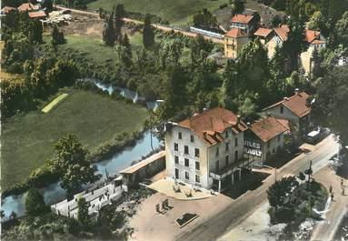 """/ CPSM FRANCE 39 """"Pont de la Chaux, route blanche et hôtel Beauséjour"""""""