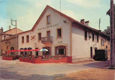 """/ CPSM FRANCE 39 """"Nozeroy, l'hôtel du parc"""""""