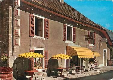 """/ CPSM FRANCE 39 """"Foncine le Haut, l'hôtel de la truite"""""""
