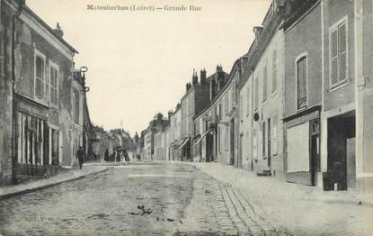 "/ CPA FRANCE 45 ""Malesherbes, grande rue"""