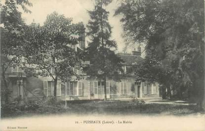 """/ CPA FRANCE 45 """"Puiseaux, la mairie"""""""