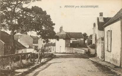 "/ CPA FRANCE 45 ""Pinson près Malesherbes"""