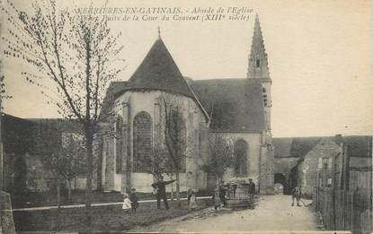 """/ CPA FRANCE 45 """"Ferrières en Gatinais, abside de l'église"""""""