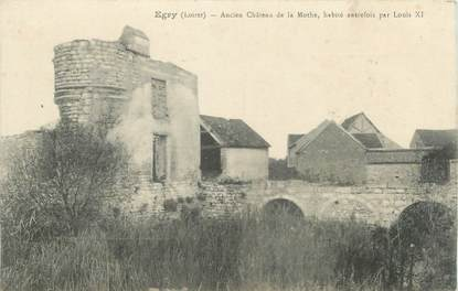 """/ CPA FRANCE 45 """"Egry, ancien château de la Mothe"""""""