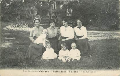 """/ CPA FRANCE 45 """"Saint Jean le Blanc, La Cerisailles"""" / ENFANTS"""
