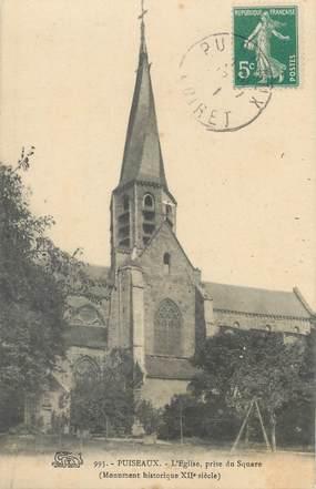 """/ CPA FRANCE 45 """"Puiseaux, l'église"""""""