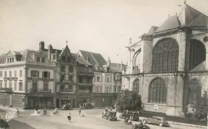 """/ CPSM FRANCE 45 """"Montargis, place Mirabeau"""""""