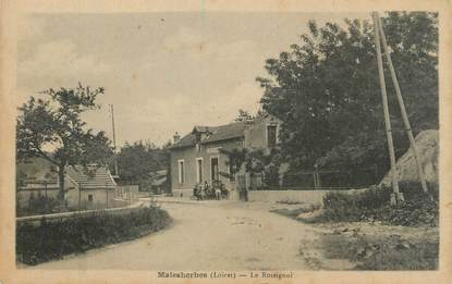 """/ CPA FRANCE 45 """"Malesherbes, le Rossignol"""""""