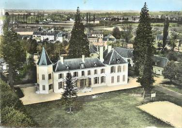 """/ CPSM FRANCE 45 """"Corbeilles en Gatinais, le château"""""""