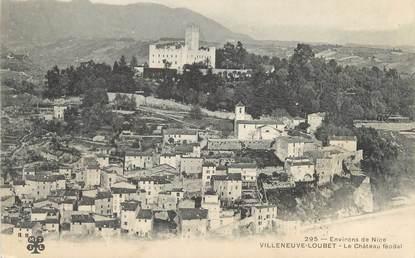 """/ CPA FRANCE 06 """"Villeneuve Loubet, le château Féodal"""""""