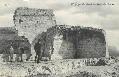 "/ CPA FRANCE 06 ""Eze, ruines du château"""