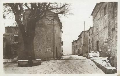 """/ CPA FRANCE 06 """"Gourdon, placette de l'Ormeau et grande rue"""""""