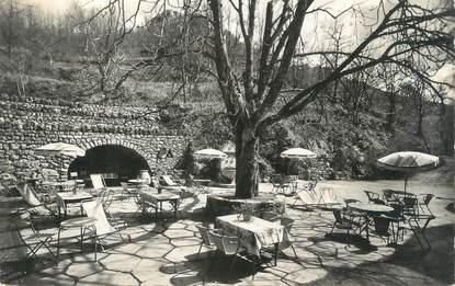 """/ CPSM FRANCE 06 """"Gréolières, domaine du Foulon, hôtel restaurant, une terrasse"""""""