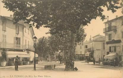 """/ CPA FRANCE 06 """"La Turbie, la place Détras"""""""