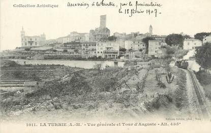 """/ CPA FRANCE 06 """"La Turbie, vue générale et Tour d'Auguste"""""""