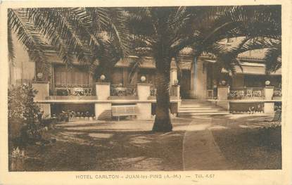 "/ CPA FRANCE 06 ""Juan Les Pins, hôtel Carlton """