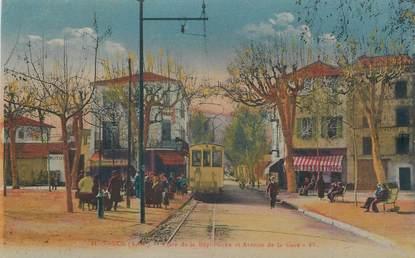 """/ CPA FRANCE 06 """"Vence, place de la République et avenue de la gare"""""""