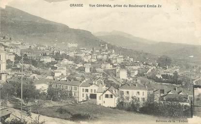 """/ CPA FRANCE 06 """"Grasse, vue générale pris du boulevard Emile Zola"""""""