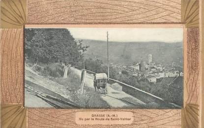 """/ CPA FRANCE 06 """"Grasse, vu par la route de Saint Vallier"""""""