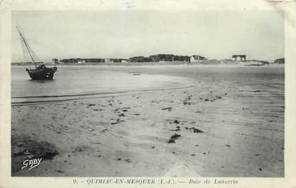 """/ CPA FRANCE 44 """"Quimiac en Mesquer, baie de Lanseria"""""""