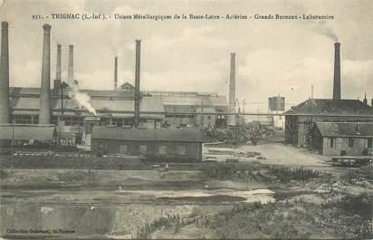 """/ CPA FRANCE 44 """"Trignac, usines métallurgiques de la basse Loire"""""""