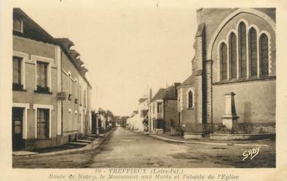 """/ CPA FRANCE 44 """"Treffieux, route de Nozcy"""""""