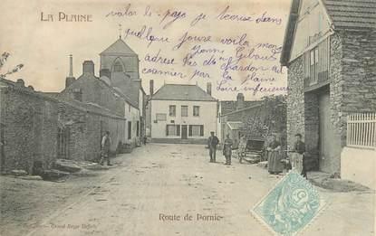 """/ CPA FRANCE 44 """"La Plaine, route de Pornic"""""""