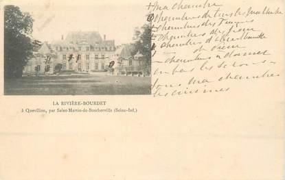 """CPSM FRANCE 76 """"La Rivière Bourdet, à Quevillon par Saint Martin de Boscherville"""""""