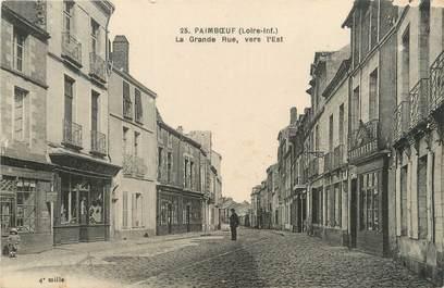 """/ CPA FRANCE 44 """"Paimboeuf, la grande rue"""""""