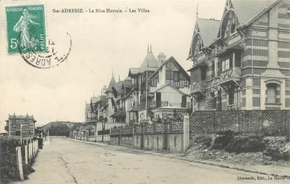 """CPA FRANCE 76 """"Le Havre Sainte Adresse, les villas"""""""