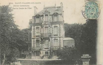 """CPA FRANCE 76 """"Saint Valery en Caux"""""""