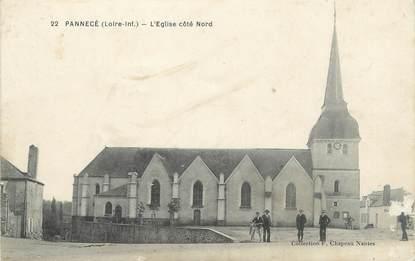 """/ CPA FRANCE 44 """"Pannecé, l'église côté Nord"""""""