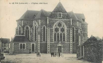 "/ CPA FRANCE 44 ""Le Pin, l'église"""