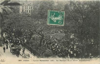 """CPA FRANCE 75011 """"Paris, Square Parmentier"""""""