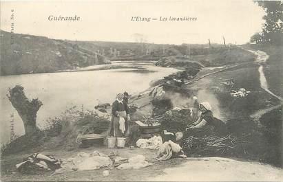 """/ CPA FRANCE 44 """"Guérande, l'étang, les lavandières"""""""