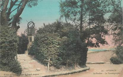 "CPA FRANCE 84 ""Avignon, le Rocher"""