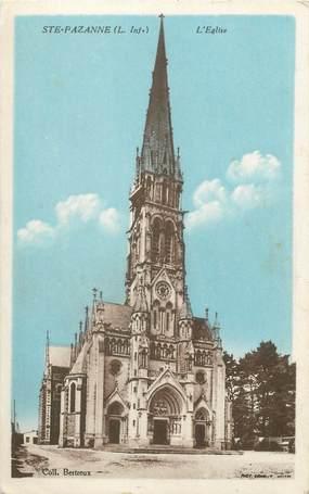 "/ CPA FRANCE 44 ""Sainte Pazanne, l'église"""
