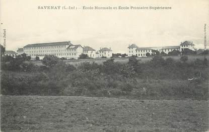 """/ CPA FRANCE 44 """"Savenay, école normale et primaire surpérieure"""""""