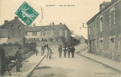 "/ CPA FRANCE 44 ""Savenay, rue de Moërre"""