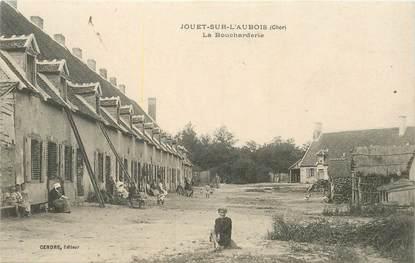 """CPA FRANCE 18 """"Jouet sur l'Aubois, la Boucharderie"""""""