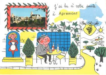 "/ CPSM FRANCE 08 ""Apremont"""