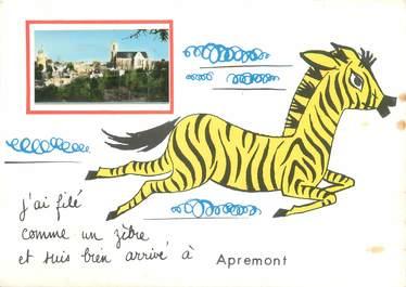 "/ CPSM FRANCE 08 "" Apremont"""