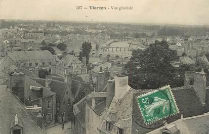 """CPA FRANCE 18 """"Vierzon, vue générale"""""""
