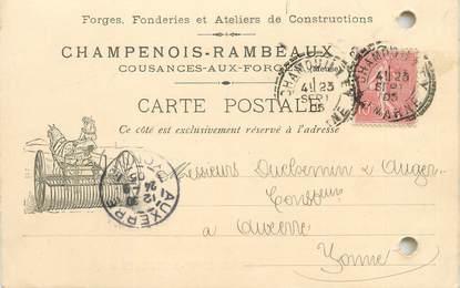 """/ CPA FRANCE 55 """"Cousances aux forges"""""""