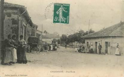 "/ CPA FRANCE 55 ""Chardogne, rue basse"""